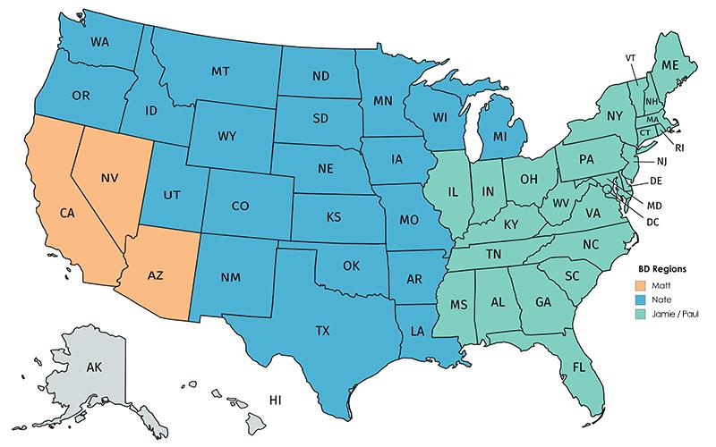 Pawnee Regions